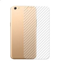 vinyl apfel groihandel-3D-Carbon-Faser-Vinyl-Schutz-Transparent-Aufkleber Film für Iphone 11 Pro Max X XS MAX XR 8 7 6 6s Plus-Klar-Aufkleber