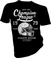 american football-shirt kinder großhandel-hampion League 1979, American Football, USA, Erwachsene Kinder T-Shirt