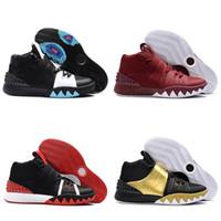 Wholesale 2018 New top S1 Men basketball shoes Athletics Sneakers Irving Designer air Sport shoes Breathable men shoes size