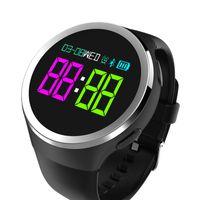 handgelenk-monitor armband großhandel-Intelligentes Armband-Sport-Bügel-Uhr-Silikon-Handgelenk-Zusatz-Blutdruck-Band-Herzfrequenz-Monitor PPG ECG-Eignungs-Verfolger