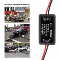 Wholesale flash remote controller online - GS a Flash strobe module Controller for car LED brake lamp light v