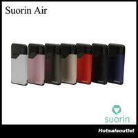 Wholesale Pink Fashion Wholesale - Authentic Suorin Air Kit with 2ml Cartridge 400mAh Battery Fashion Portable E Cigarette Vape Vaporizer Kit Original 100% DHL Free