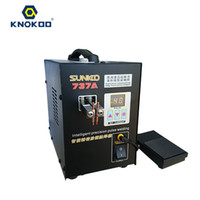 Wholesale Micro Precision - Knokoo 737A Intelligent Precision Pulse Battery Welding Machine Precise Micro-computer Soldering Station for Welding Iron Stainless Steel