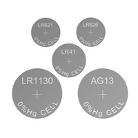 Wholesale lr44 button cell battery - Button Cell LR621 LR736 LR626 LR1131 LR1154 1.5V Alkaline Watch Battery Coin Cell AG13 LR44 AG10 LR1130 AG4 LR66 AG3 LR41 AG1
