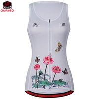 Wholesale outdoor vests for men - New lotus summer Sleeveless Cycling Jacket Outdoor Sports Clothing Bike Bicycle Vest Windbreaker for Both Man & Women