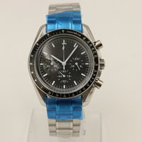 Wholesale quartz analog watch movement - luxury brand watch men 40mm stainless steel Quartz watch tick movement speed have battery AAA watches Master aaa watch 98