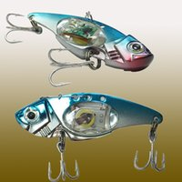 Fishing lure Jigs Hooks Tackle Minnow Trolling Lake Flashing Light Crank Prawn
