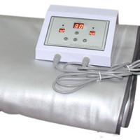 vücut zayıflama sauna battaniye toptan satış-Termal sauna battaniyesi Kızılötesi ısıtma tedavisi sıcak battaniye vücut zayıflama makinesi