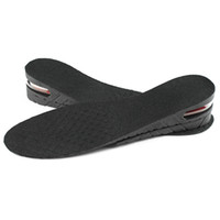 Wholesale shoe pads increase height online - 2 Layers cm Stealth Adjustable Increased Insoles for Men Women Shoes Pad Increase Height Insole Air Cushion Lift Pads Heel
