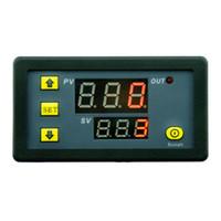 verzögerungsrelaismodul großhandel-DC12V 20A Timer Modul Timing Verzögerung Relaismodul Digitale Verzögerung Radfahren Modul 1500 Watt 0-999h