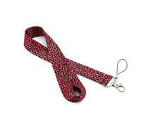 leopar boyun askısı toptan satış-Toptan moda Leopard Baskı İpi ipod cep telefonu için iphone anahtarlık boyun askısı 8 renkler Ücretsiz kargo