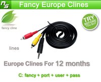 Wholesale CCcam Cline account for year validity for UK Germany Italy Spain canal support cccam receiver free trial