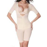 Wholesale full body lingerie - Woman Sexy Full Body Shapwear Open Crotch XXL Tummy Control Waist Slimmer Fajas Fajas Reductoras De Barriga Bodysuit Lingerie