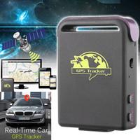 Wholesale mini spy tracker online - Mini Spy Vehicle GPS GSM GPRS Tracker Car Tracking Locator Device TK102 Magnetic DHL UPS