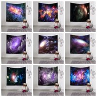 ingrosso arazzo 3d-Galaxy Wall Blanket Tapestry Stars Wall Hanging Hanging Arazzi Stuoia di stoffa Beach Towel lavabile 3D Digital stampato scialle AAA558
