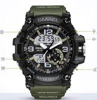 Wholesale waterproof watches cheap - Hotsell cheap price SMAEL new sport fashion multifuncational electron watches man watch waterproof watches free shipping
