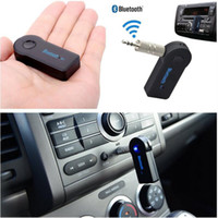 Wholesale usb bluetooth music receiver - Wireless Car Bluetooth Adapter Receiver 3.5mm Aux Stereo Wireless USB Mini Bluetooth Audio Music Car Adapter Receiver EEA138