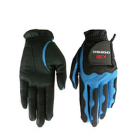 Wholesale quality brand tools resale online - 1pcs Man And Women Golf Glove High Quality Pu Brand Designer Non Slip Ventilation Gloves Wear Resisting Accessories dl Ww