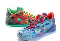 мужская обувь оптовых-Оригинал лучше всего для ZOOM KOBE VIII 8 SYSTEM PREMIUM баскетбольная обувь Какая обувь для кобе для мужчин цена от производителя Спортивные кроссовки Размер 7-12 джетов