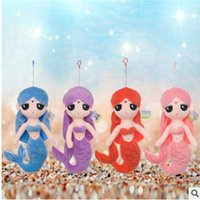 Wholesale Mermaid Plush Toys Dolls Colors Lovely Children Cartoon Stuffed Animals PP Cotton CM CM B0099