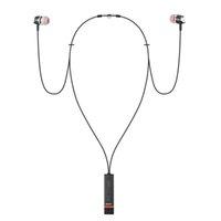ingrosso collana della cuffia del bluetooth-Auricolari Bluetooth senza fili Magnete Collana girocollo Cuffie Sport Cuffie Stereo Bass Auricolari Handfree per iPhone Xs Max