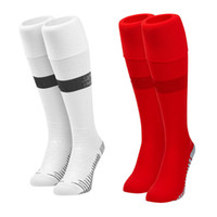 Wholesale pink basketball socks online - World Cup Soccer Team Socks Adult Kid France Belgium CALCETIN England Croatia Mexico Japan Sweden Sox Spain Sports Sock Long Hose