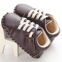 ingrosso pattini di plastica del bambino-Primavera e autunno uomo e donna bambino PU plastica casual bambino scarpe per bambini