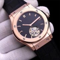 ingrosso cronometro automatico-Orologi da uomo di alta qualità di marca AAA tourbillon orologio meccanico automatico classico signore moda Reloj orologi cronometro