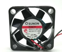Wholesale 4cm fan resale online - SUNON V W CM ME40101V1 C A99 line magnetic levitation fan