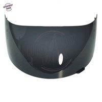 estuche de visera al por mayor-Nuevo Dark Smoke Motorcycle Helmet Visor Lens Full Face Shield Estuche para SHOEI CX1-V X11 Raid 2 XR1000 X-Spirit Multitech