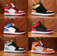 Wholesale cut leather belt for sale - designer belts mens shoes S Chicago Gold Top Royal Bred Basketball Shoes Men designer shoes s Hare Game Royal UNC Sneakers