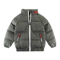 ingrosso ragazzi giacche di moda-Giacca di alta qualità per bambini e ragazzi Autunno Inverno Giacca per bambini e ragazzi caldi per bambini