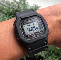 s shock digital toptan satış-Spor erkek Izle G Tarzı Şok Bilek Saatler Su Geçirmez LED Dijital Ekran Askeri Saatler Lüks Erkek İzle Toptan AAA Kalite