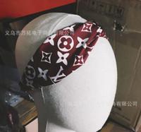 ingrosso headpiece della catena dei capelli all'ingrosso-Designer Headband Head Scarf per le donne Luxury Brand 100% seta fasce elastiche per capelli Ragazze Retro Floral Bird Flower Turbante Headwraps Regali 2356