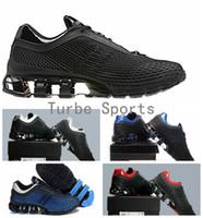 fd5a4139d 2018 PORSCHE DESIGN RUN Bounce S3 Mesh Running Shoes for Men Blue Bred  Black Breathable Sports Sneakers Size Eur 40-46