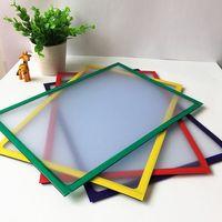 schnelles foto großhandel-Pvc schnelle Magnetische Bilderrahmen Kühlschrank Magneten Kühlschrank Decor Flexible Multicolor Quadratischen Rahmen Bilderrahmen 2 Teile / los