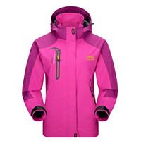 Wholesale hooded sleeveless jacket woman for sale - Spring Women s Jackets Waterproof Coats Women Windbreaker Female Casual Coat Women Clothing Sportwear Outerwear New Hot Coats