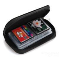 almacenamiento de la memoria de la cámara al por mayor-Binmer Memory Card Storage Funda Cartera Holder SD Micro Micro 22 Slots Camera Phone Oct 13