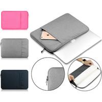 15 inç dizüstü bilgisayar çantası toptan satış-Laptop Kol 13 Inç 11 12 13 15-Inch MacBook Hava Pro Retina için Ekran 12.9