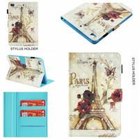 ipad мини цветок кожаный чехол оптовых-3D кожаный бумажник чехол для Apple iPad Mini 1 2 3,4, Ipad 2 3 4, 5 6 Air 2 9.7