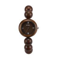 хорошее качество оптовых-Wristwatch способа дела вахт золота деревянный хороший вскользь деревянный bamboo для работы