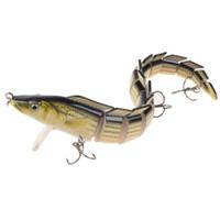 ingrosso serpenti di plastica dura-3 colori 23 cm 46g pesce serpente esche dure di plastica esche ami da pesca ami 4 # gancio esche artificiali pesca attrezzatura da pesca accessori