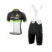 Wholesale biking clothing online - Summer Cycling Jersey Team DIMENSION DATA Men MTB bicycle Wear Short Sleeve Bike Clothing Maillot Ciclismo Uniform Biking Clothes Y0220
