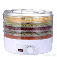 Wholesale low cutter resale online - Household Gourmet Tools Dried Fruit And Vegetable Machine Portable Practical Dehydrator Low Temperature Food Dryer High Grade km Ww