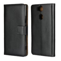 Wholesale xperia z5 for sale - Group buy Genuine Leather Wallet Case for Sony XA2 Ultra Z5 PLUS Xperia M Credit Card Holder Stand Cover Wallet Flip Phone Cover Case