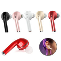 Wholesale bluetooth v1 - V1 Mini Earbud In-Ear Wireless Earphone Sport Bluetooth Stereo Headset for iphone X 8 Samsung Xiaomi