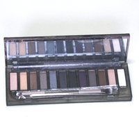 Wholesale nude smoky palette 12 color eyeshadow online - 2018 HOT Makeup NUDE Smoky Palette Color Eyeshadow Palette g High quality good quality