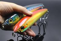 ingrosso ganci per trolling-Big Pencil Wobbler Laser BASS Crankbaits Ganci per esche artificiali per pesca in mare 125g 18cm-7