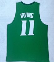 Wholesale discount mens shirt for sale - Group buy new Georgetown IRVING White Basketball jersey shirts Discount Cheap mens Popular Sport Trainers Basketball wear