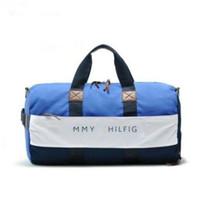 erkek marka seyahat çantası toptan satış-2018 yeni moda erkek kadın seyahat çantası spor çantası, marka tasarımcısı bagaj çanta büyük kapasiteli spor çantası 55 CM